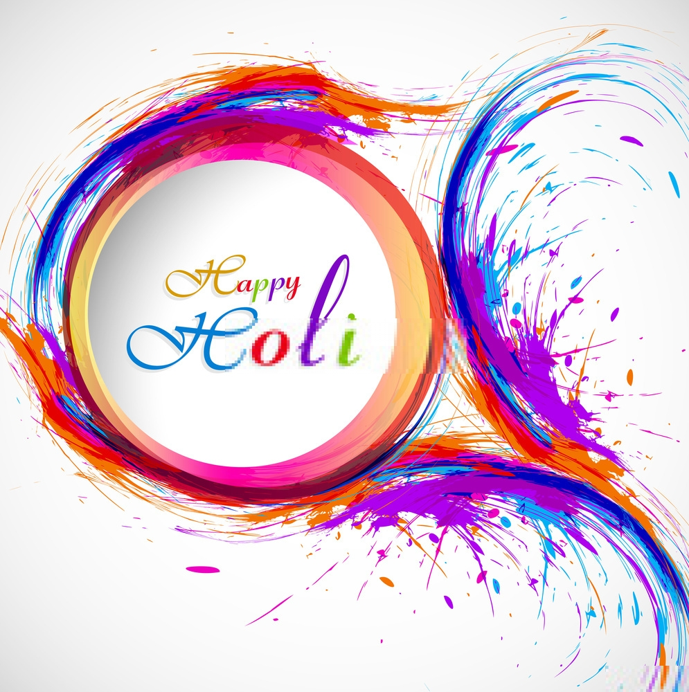 Wishing You A Colorful Day A Colorful Life Color Your Mind With Positivism Happiness Happy Holi Happy Holi Holi Wishes Happy Holi Gif
