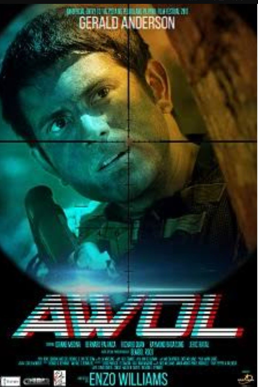 Awol A Filipino Action Film Starred By Gerald Anderson