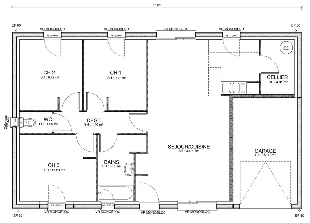 50 Awesome Plan De Maison 2 Chambres Salon Cuisine Pdf Schwabenhaus The Plan Musterhaus