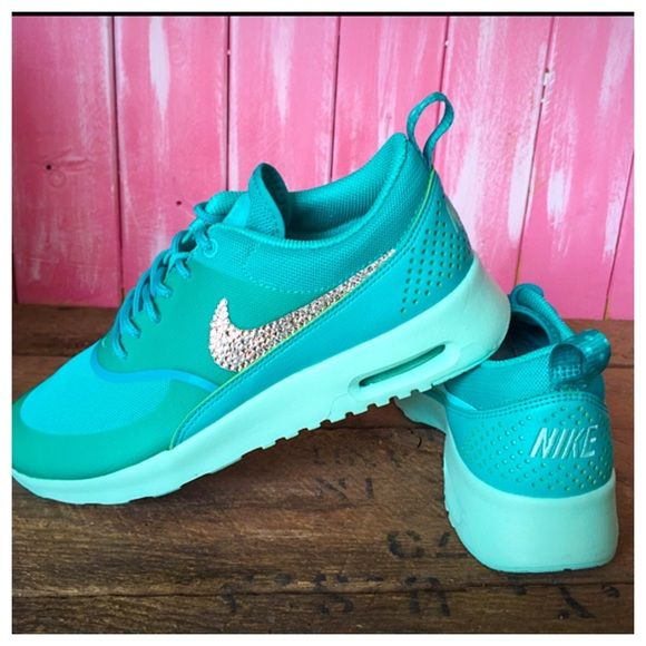 Nike Air Max Thea Swarovski Crystals Brand New in Box Authentic Women s Nike 3c2cee765e14