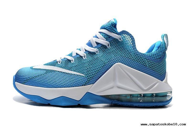 47ffeda6f92 Branco Jade NIKE LeBron 12 Low comprar tênis online. Jordan ShoesAir ...