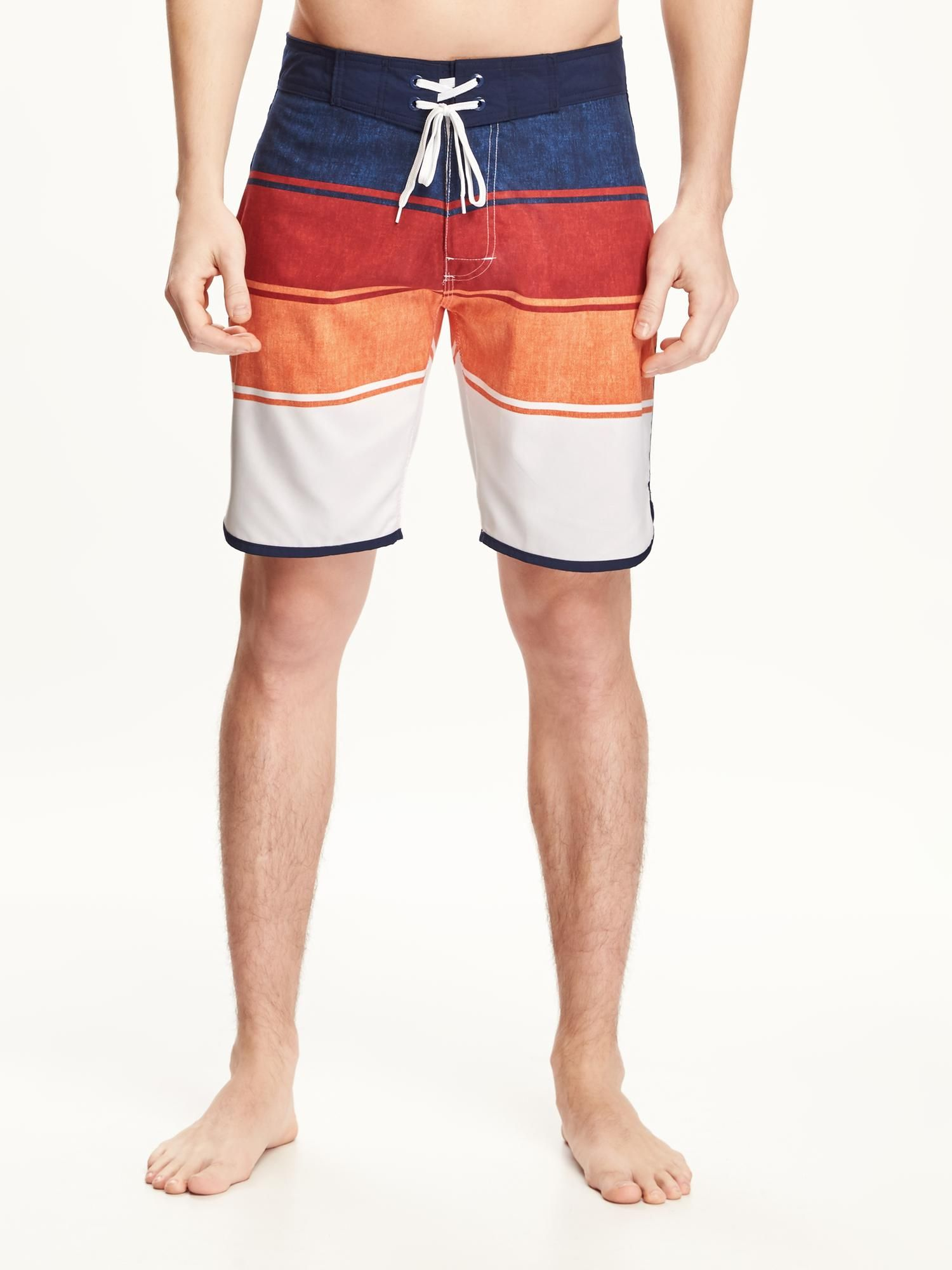 d4757402d7 Striped Board Shorts for Men (9 | Suits for swimming | Mens swim ...