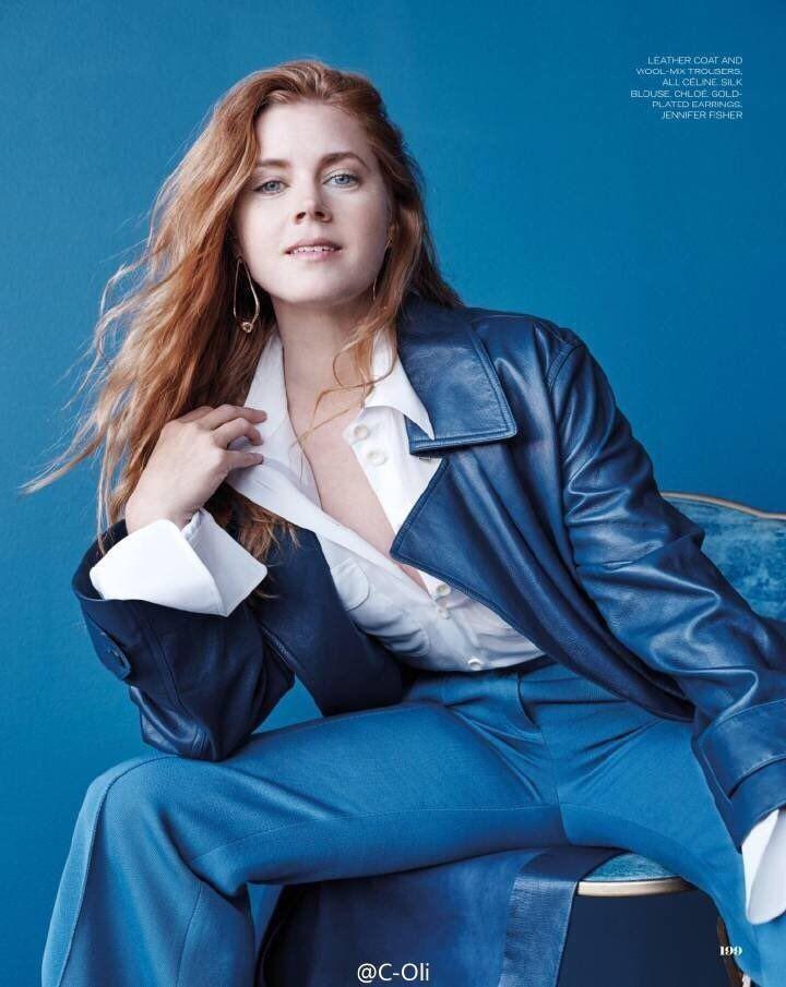 Amy Adams - ELLE Magazine (UK) (November 2016)                                                                                                                                                                                 More