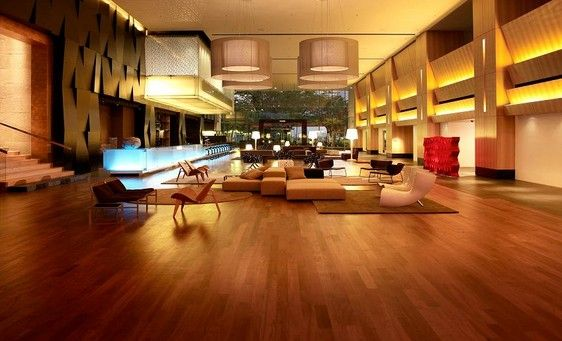 Ultra Modern hotel lobby interior design ideas with wooden floor ...