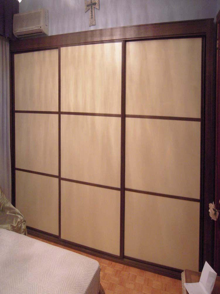 Ebanisteria armarios armario armarios a medida armarios empotrados frentes de armario interiores - Armarios empotrados interiores ...