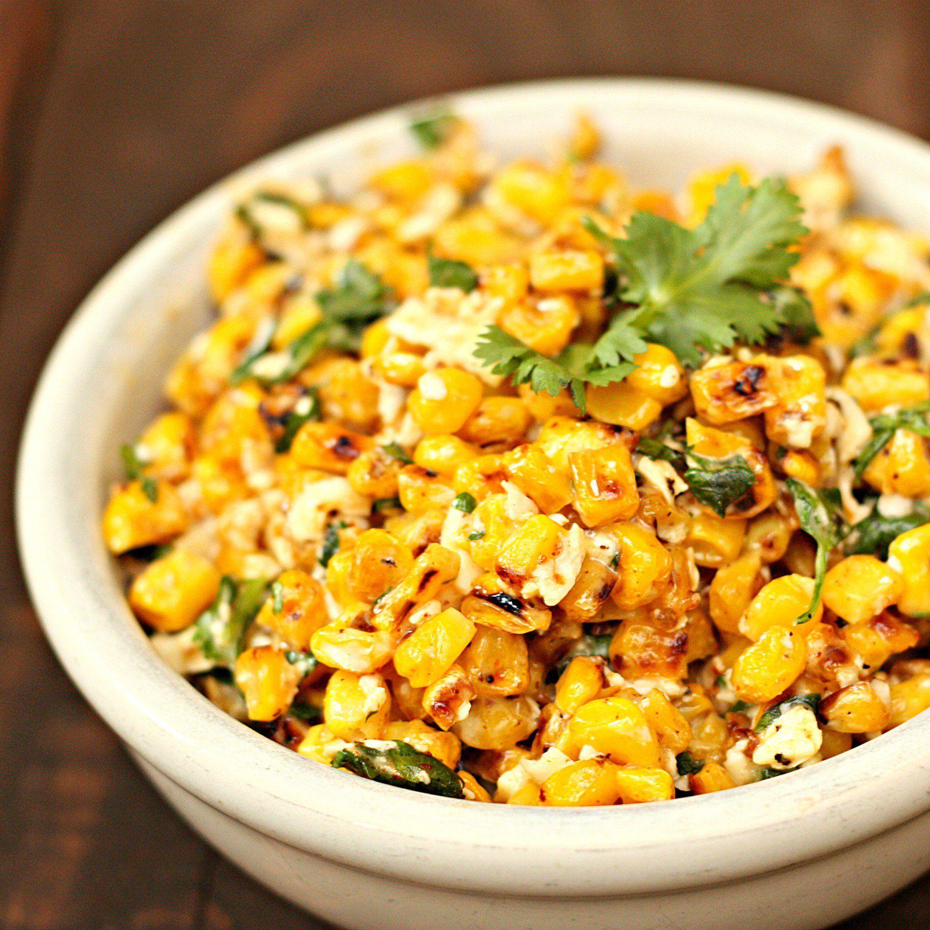 Mexican Street Corn Salad Recipe Six Sisters Stuff 1