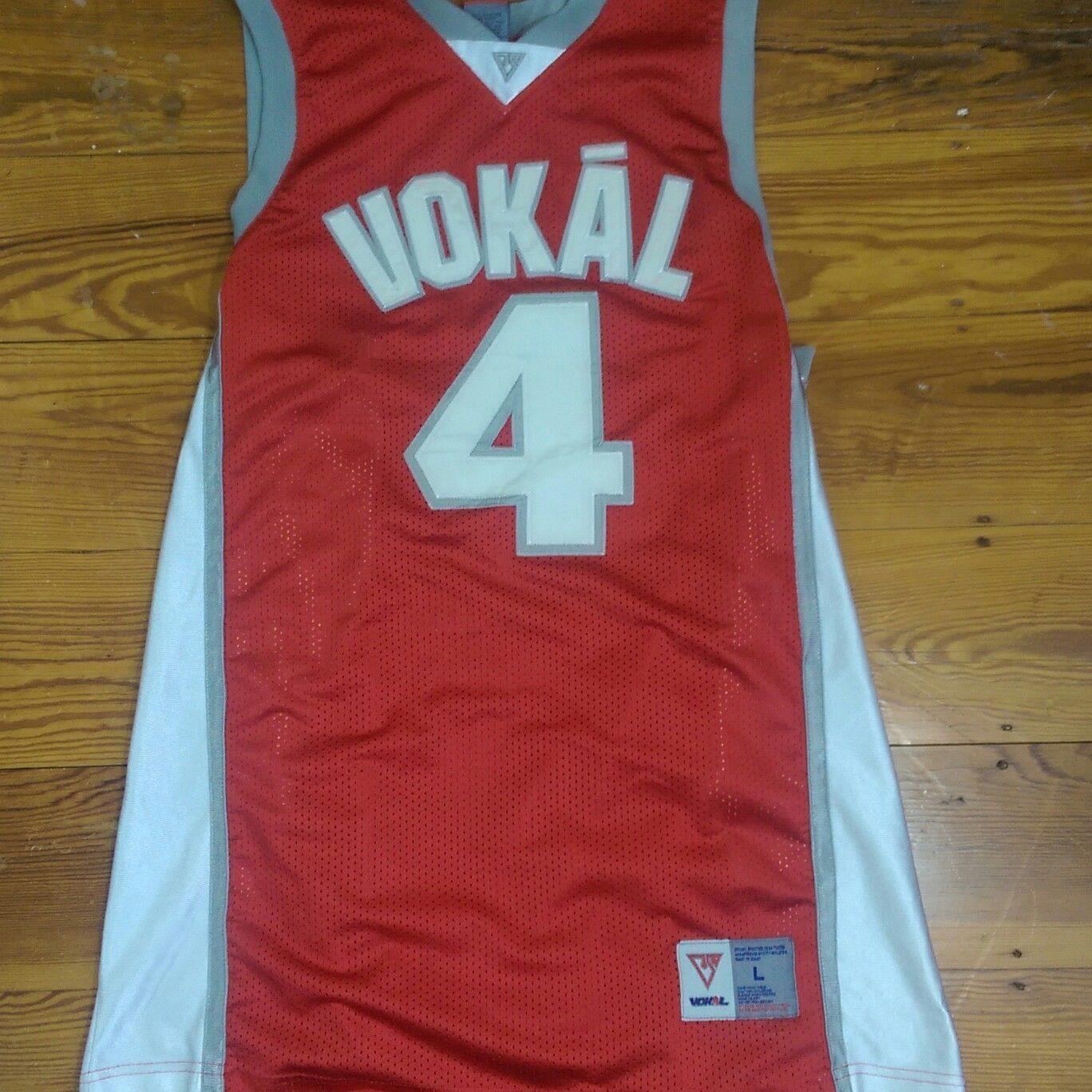 358ad0e381c Nelly Vokal Basketball Jersey Men's Size L Vintage | Nelly Vokal ...