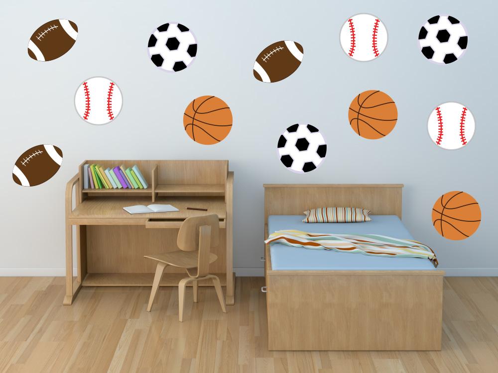 Sports Star Nursery Wall Decals Basketball Wall Decals Sports Wall Decals Sports Wall