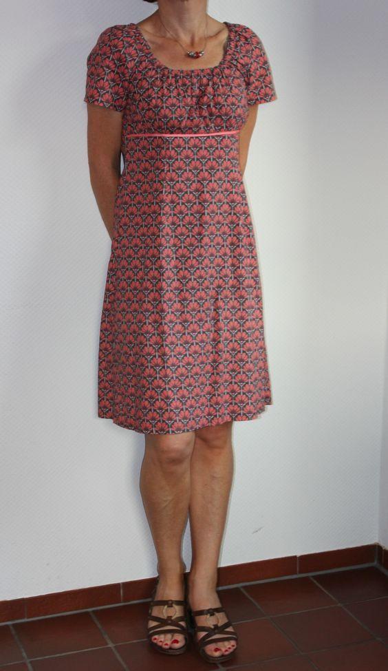 Sommerkleid nach Schnitt Brindisi von Schnittquelle #summerdresses