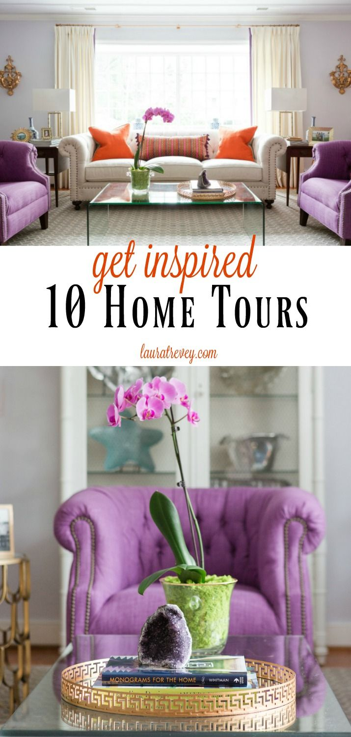 Here are our 10 best home tours to inspire. Each unique and different, these home tours offer decorating ideas with shopping links for you to get the look.