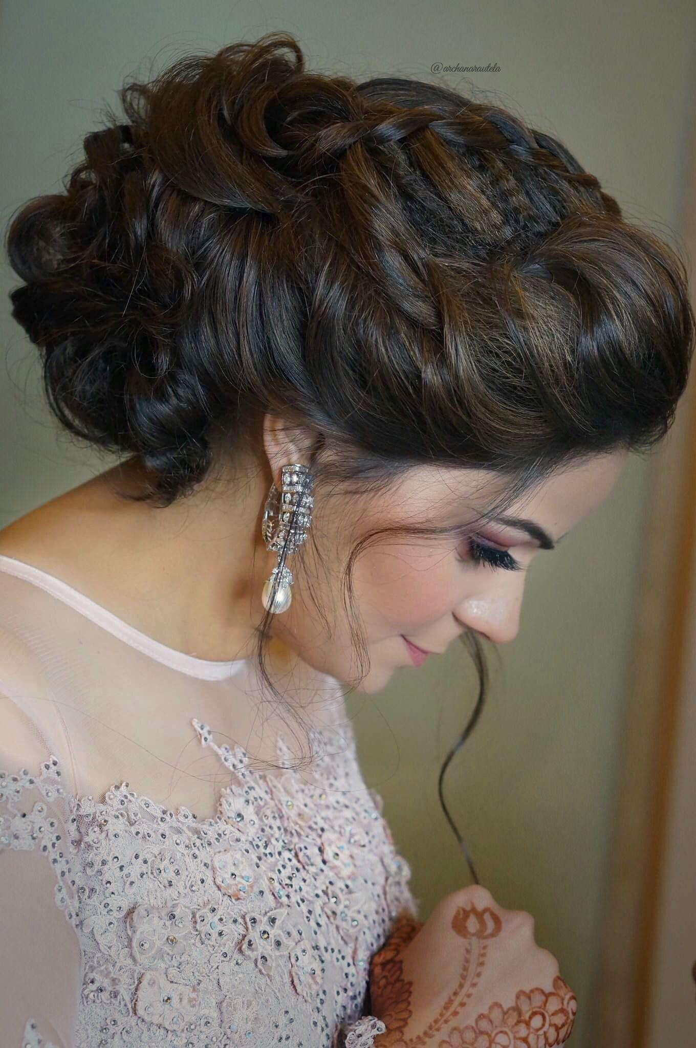 Pinterest: @cutipieanu | Messy bun hairstyles, Bun hairstyles, Indian party hairstyles