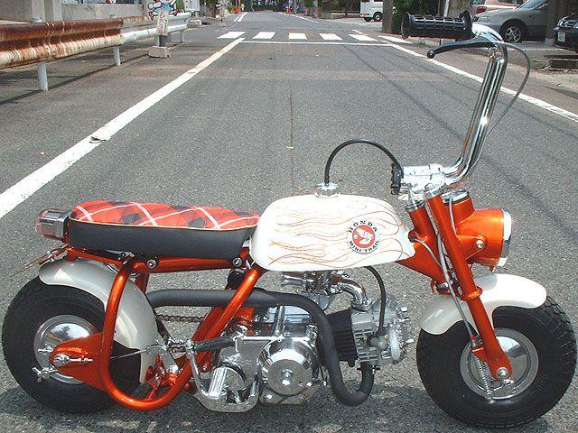 Honda Monkey Bobber Moped Oldschool Ape Hangers Oddly Useful ミニバイク カフェレーサー コンセプトバイク