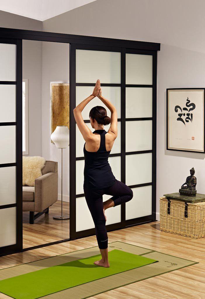 Home Office Sliding Glass Room Dividers Inspirational Gallery: Sliding Glass Room Dividers Yoga Studio Inspirational