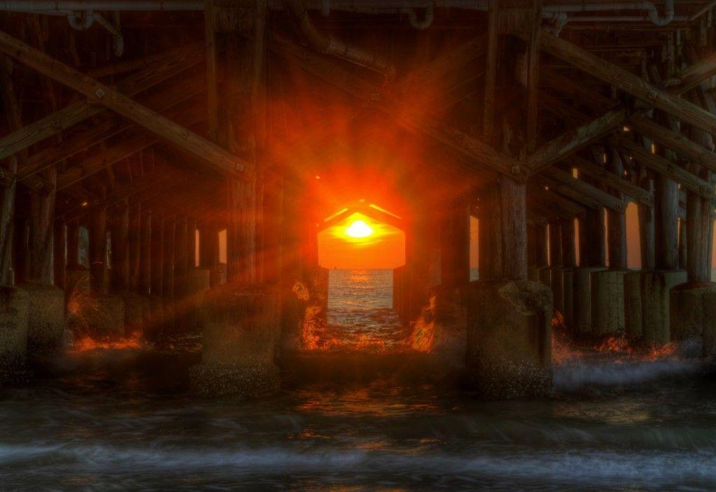 Ormond Beach Life: Daytona Beach under the Pier