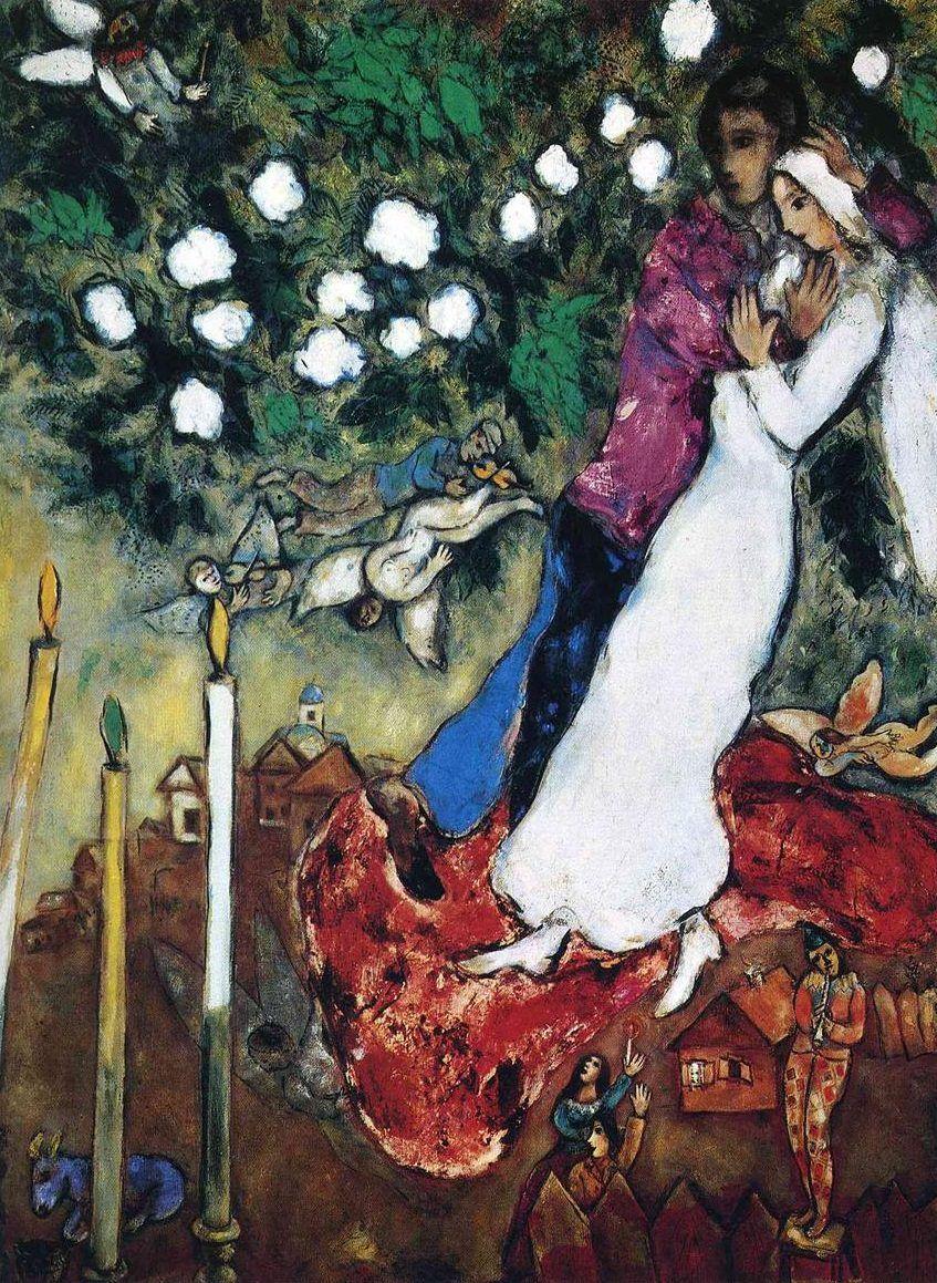 Картинки по запросу marc chagall the three candles