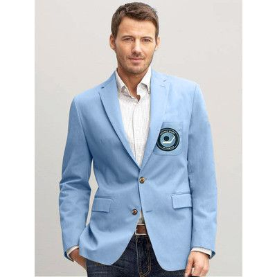 1970s Hockey Night in Canada Powder Blue Blazer | Canada, Hockey ...