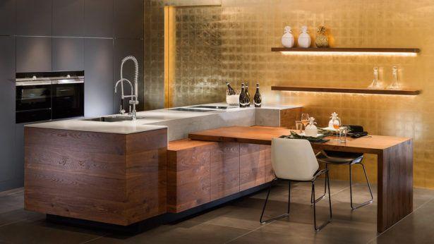 WohndesignKüche Farbe Farben Mit Dunklen Schränken Küchen