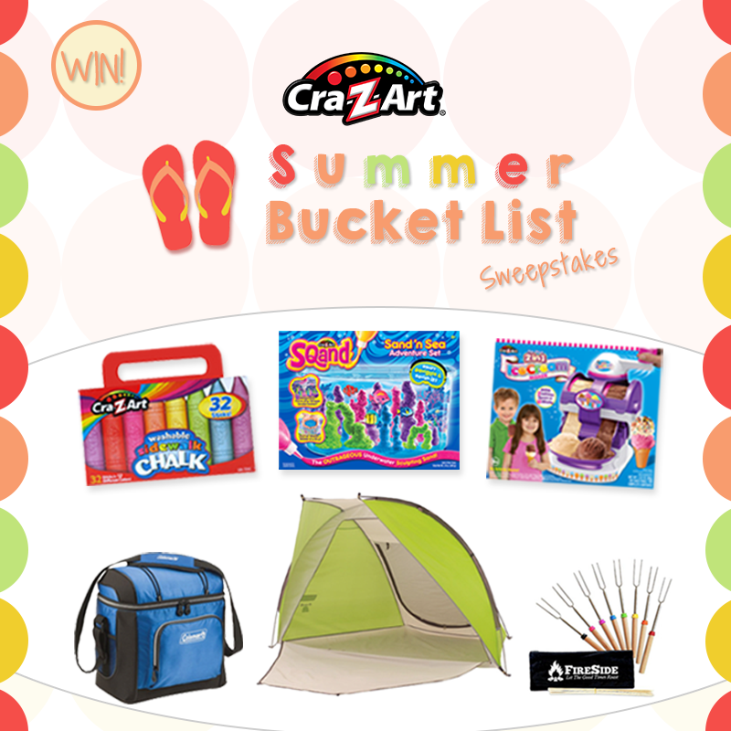 ENTER TO WIN! What's on your summer bucket list? Enter here: https://a.pgtb.me/83RxQC and name just ONE thing to be entered for a chance to win these summer must-haves! Ends July 19, 2016.