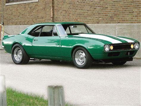 1967 Rally Green Camaro Featured Vehicles Car Craft Magazine Green Camaro Camaro Classic Camaro