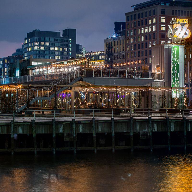 City Vineyard Pier 26 Nyc Spots In 2019 City Winery City New York