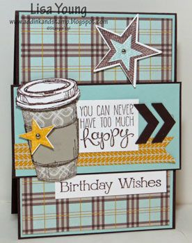 Perfect Blend Birthday CCMC269 by genesis - Cards and Paper Crafts at Splitcoaststampers