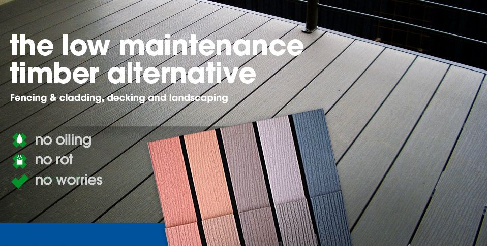 Composite Decking - FutureWood provides low maintainance