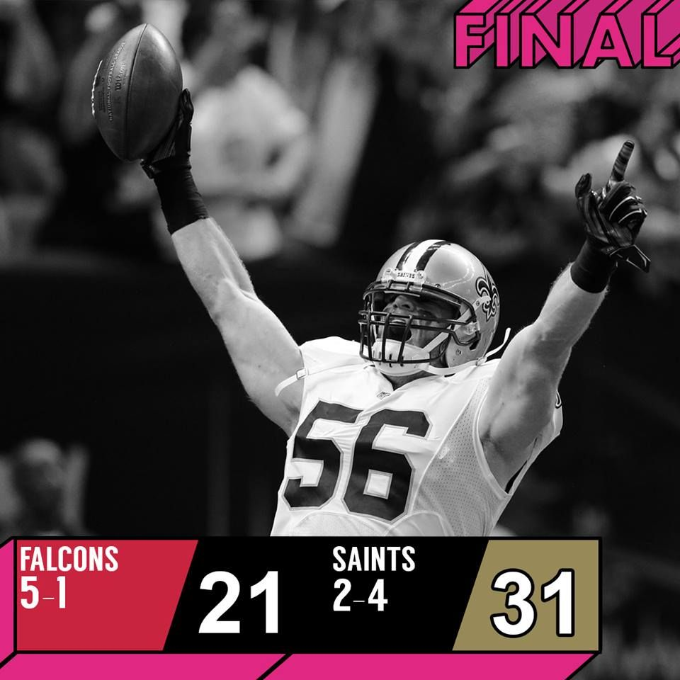 The New Orleans Saints Made Their Presence Felt On Thursday Night Football When They Took On And Took Down Football National Football League National Football
