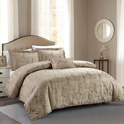 Astoria Grand Regis Hotel Paisley Luxe Comforter Set Size Full