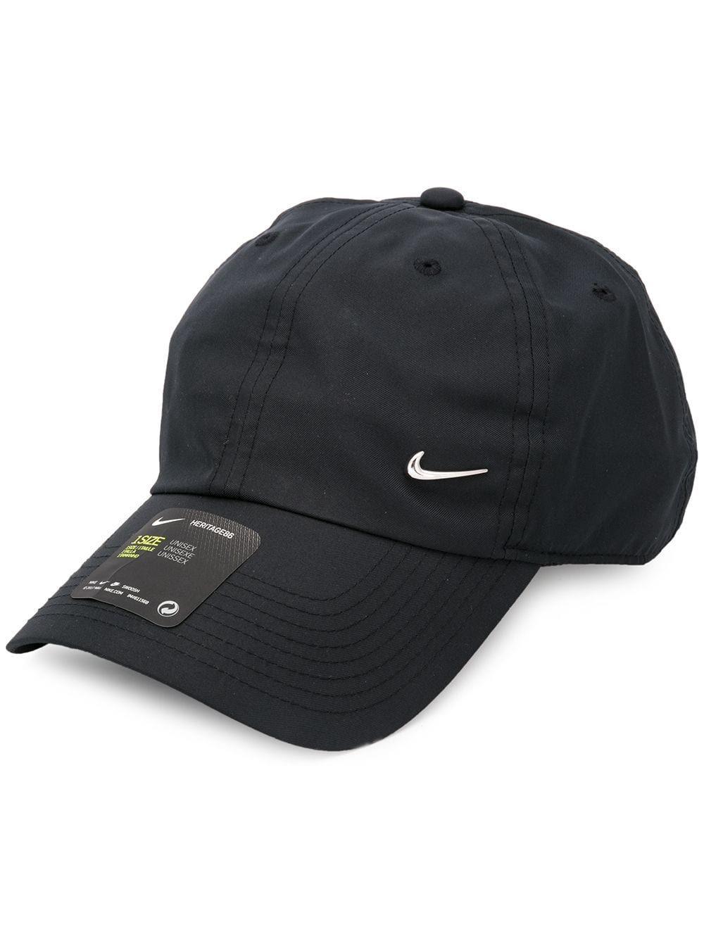 ea3c17c177a NIKE NIKE METAL SWOOSH H86 CAP - BLACK.  nike