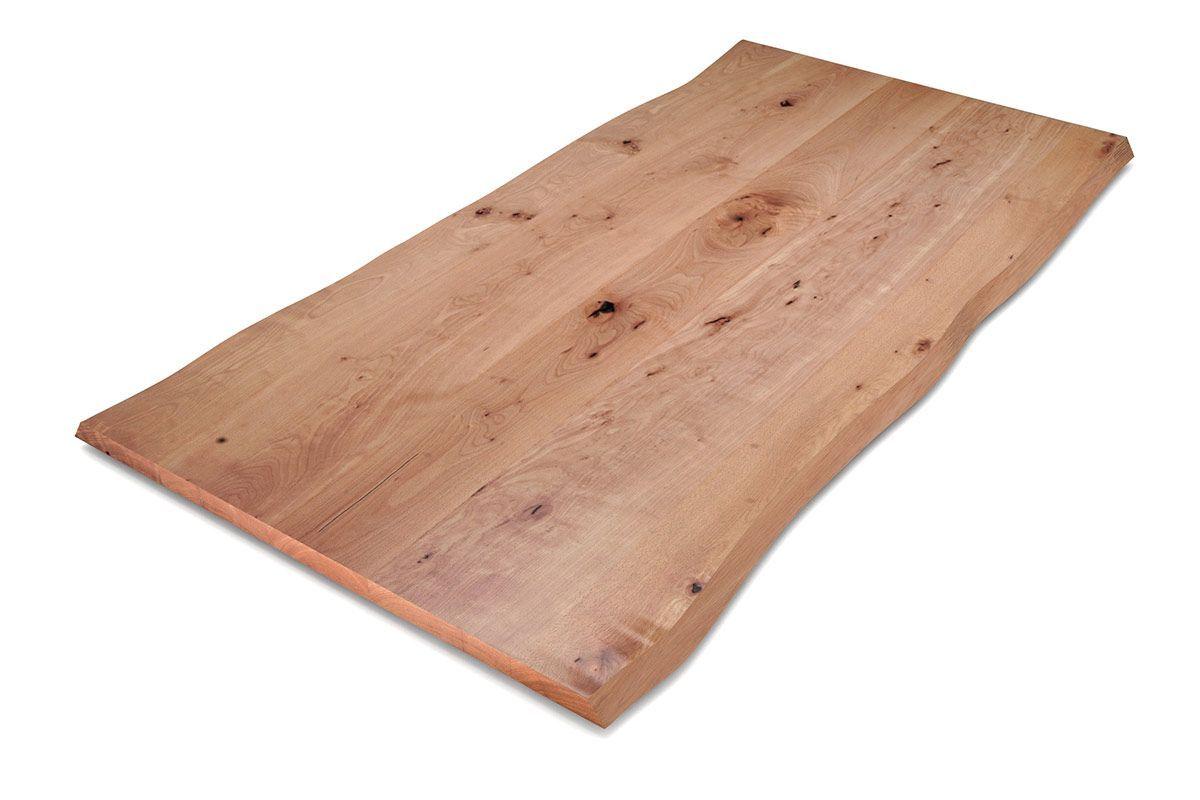 Charakter Massivholz Tischplatte Aus Buche Mit Baumkante