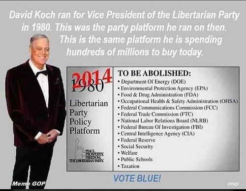 D KOCH 1980 Libertarian Platform