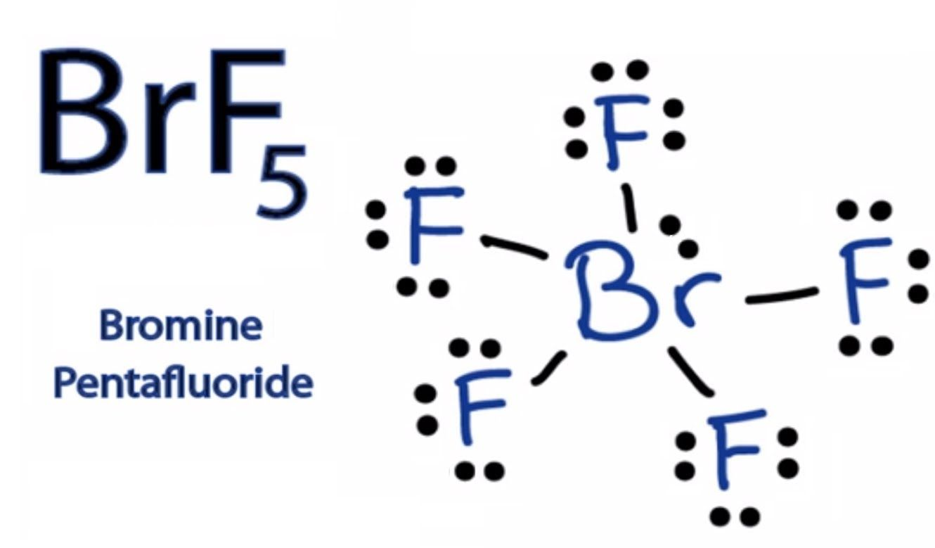 Lewis Dot Diagram Of Bromine Brf5 Lewis Structure How To Draw The Dots Electrons Diagram