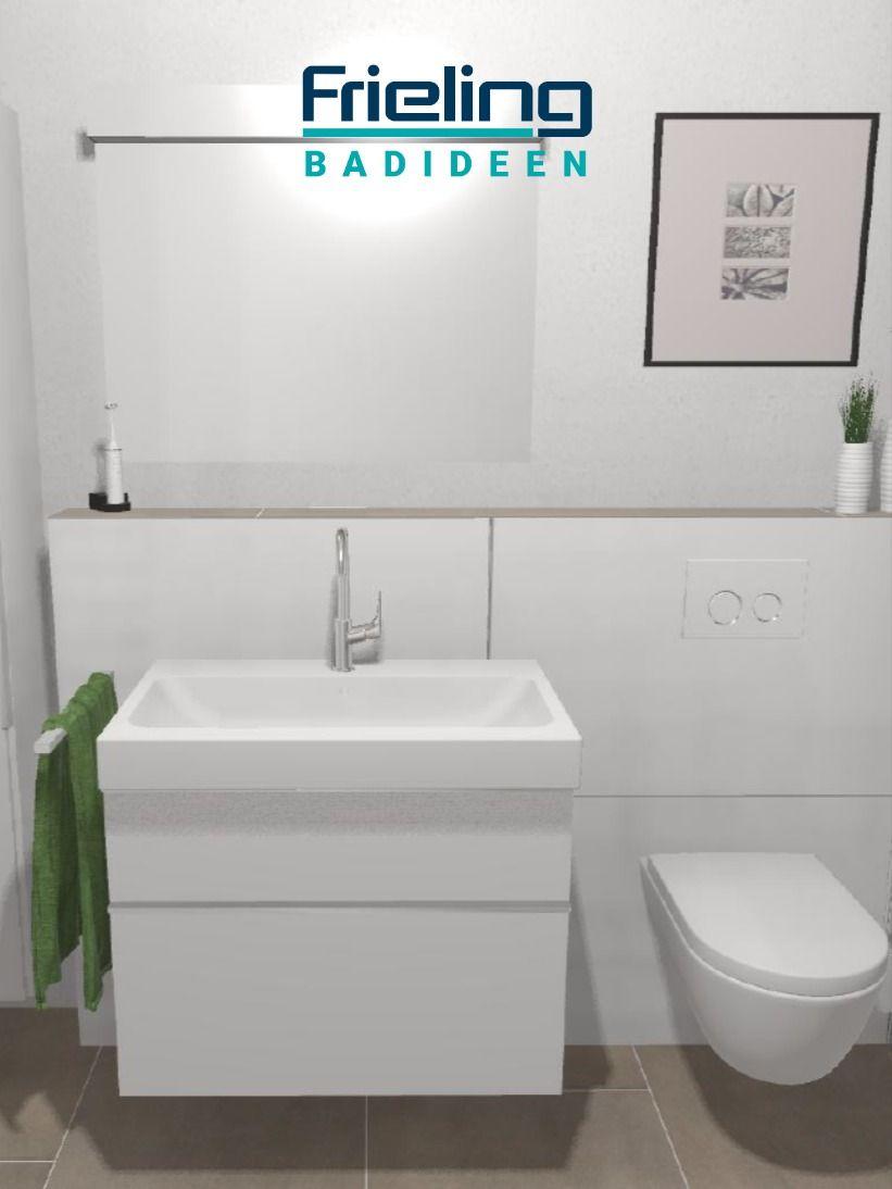 Auf 6 Qm Sorgen Der Hochschrank Und Der Waschtischunterschrank Fur Ausreichend Stauraum Im Badezimmer Sie Sehen Keinen Wandschrank Dann Schauen Sie Je Duschbad