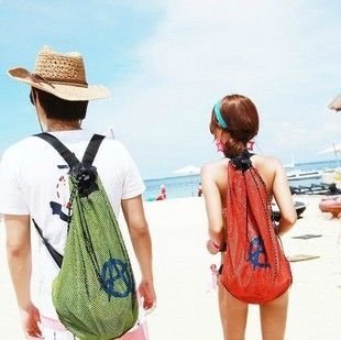Korean-style-Beach-swimming-bag-waterproof-beach-bag-backpack-for ...