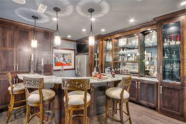 Benzinger Terrace - Brentwood, TN - transitional - basement - nashville - Eric Ross Interiors, LLC