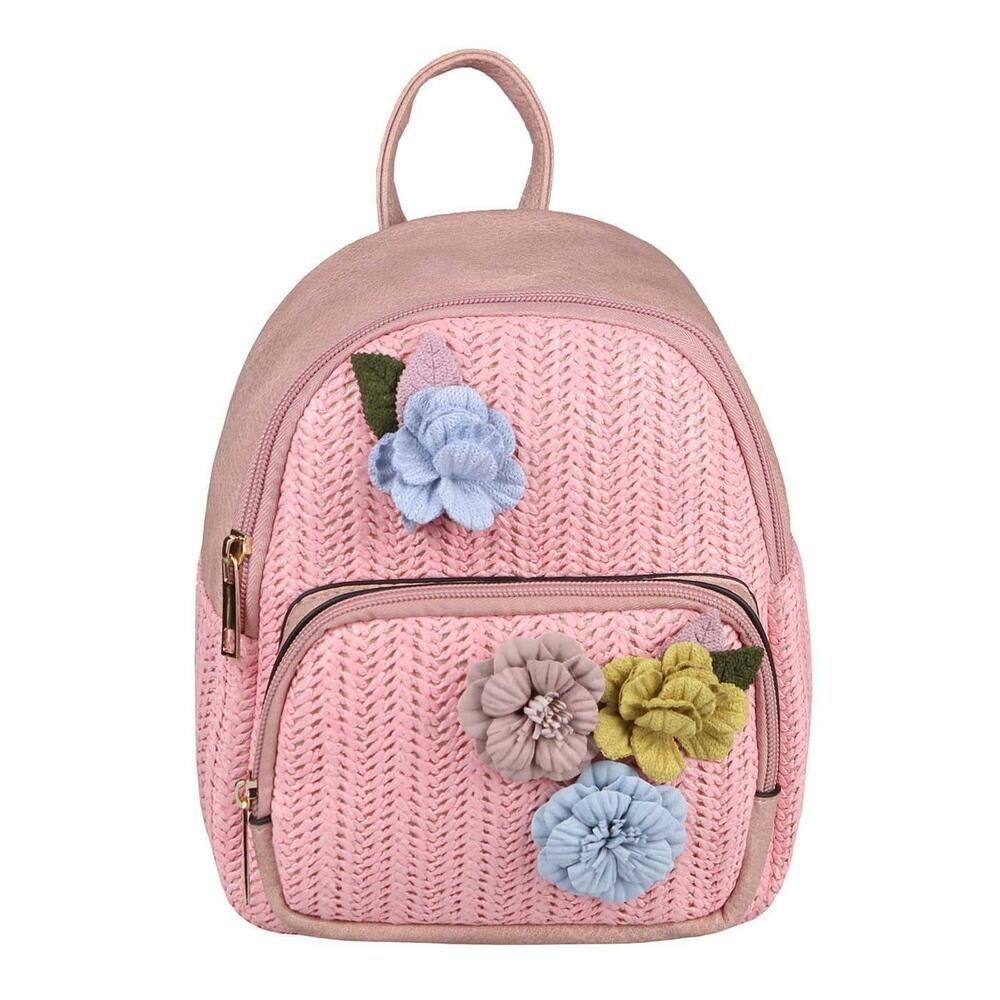 Werbung] DAMEN RUCKSACK Blumen Backpack Schultertasche