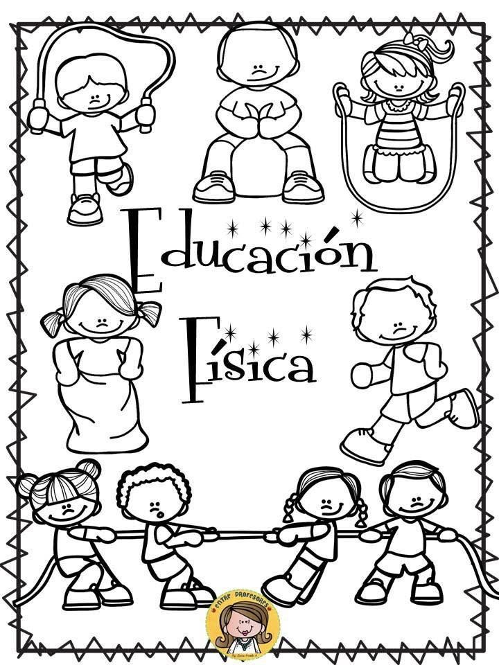 Portada educación física | Portadas de educacion fisica, Educación ...