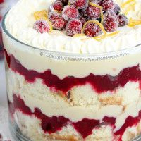 Cranberry Trifle-21