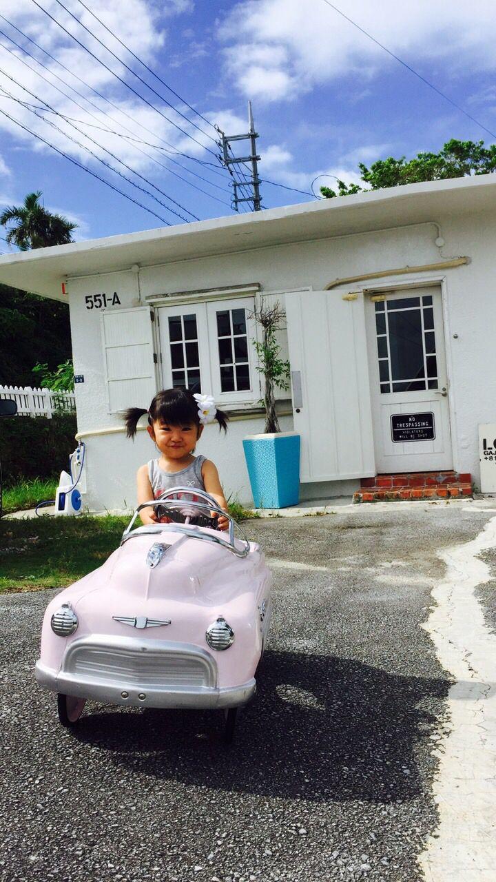 沖縄駐屯地。娘の誕生日近いのでアメ車をプレゼント。 garret interior okinawa garrison. I gave it on my doughter's birthday.