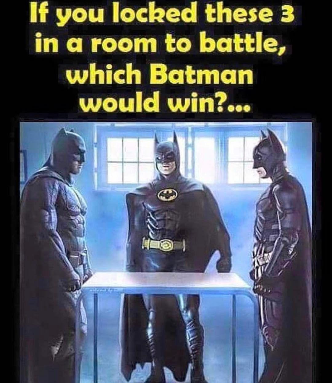 Which Batman would win?! #comicsandcoffee