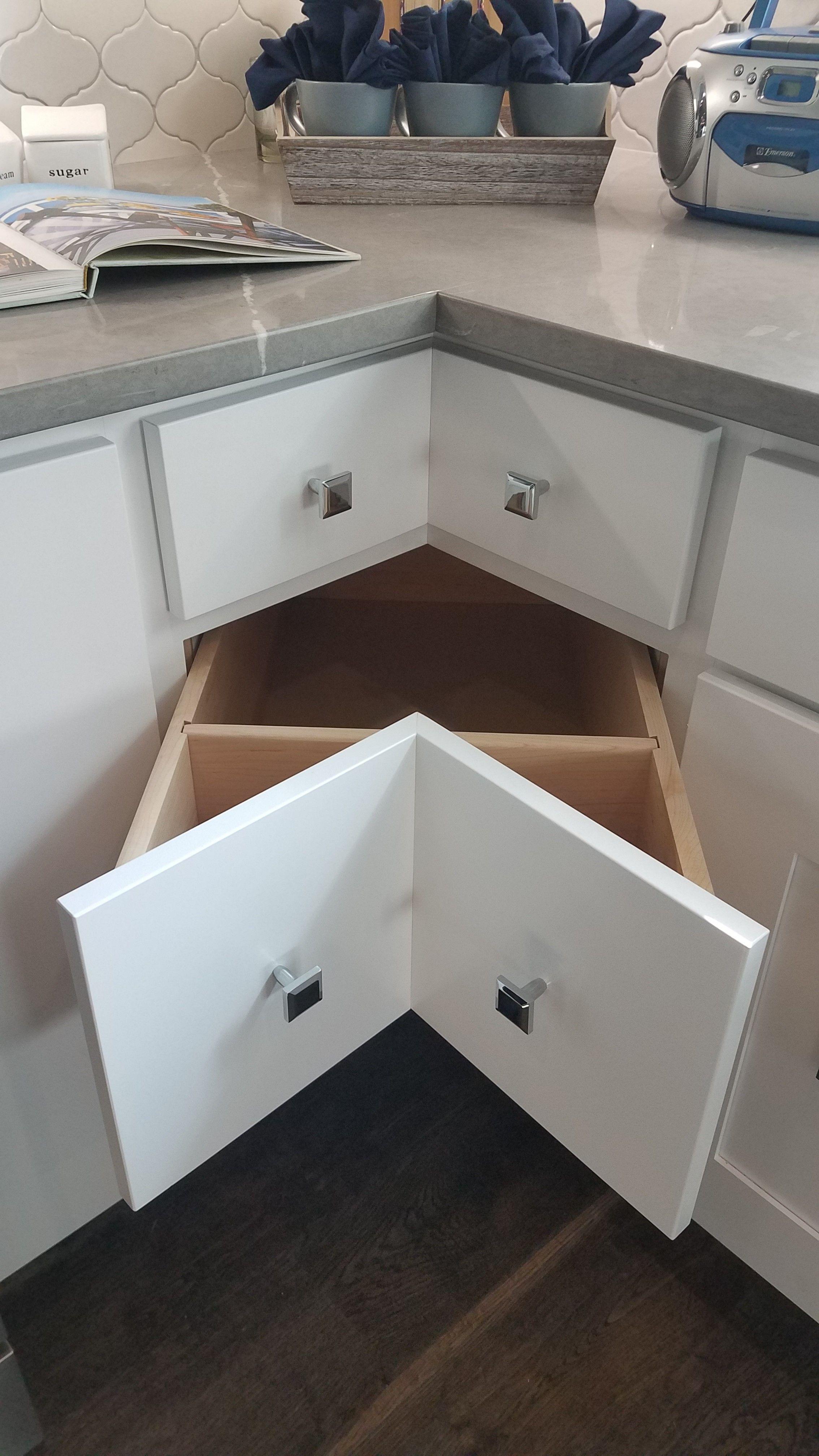 corner cabinet in lieu of a lazy susan kitchen organization kitchen storage bakery kitchen on kitchen organization lazy susan cabinet id=93933