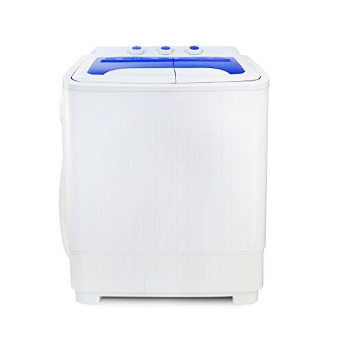 Portable Compact Washer and Spin Dry Cycle with Built in Pump 300W ...