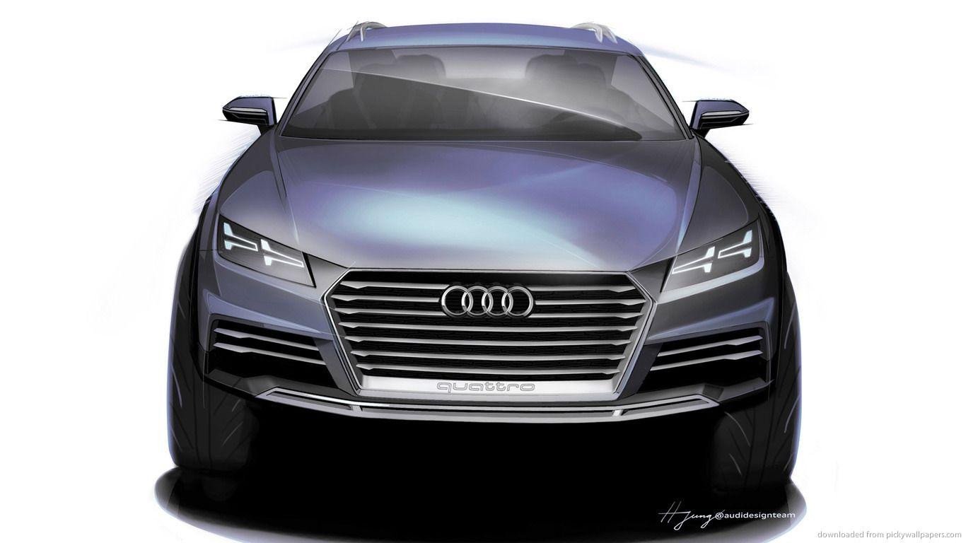 Audi Suv Concept Sketch Front Wallpaper Ingolstadt Audi Groupe Volkswagen