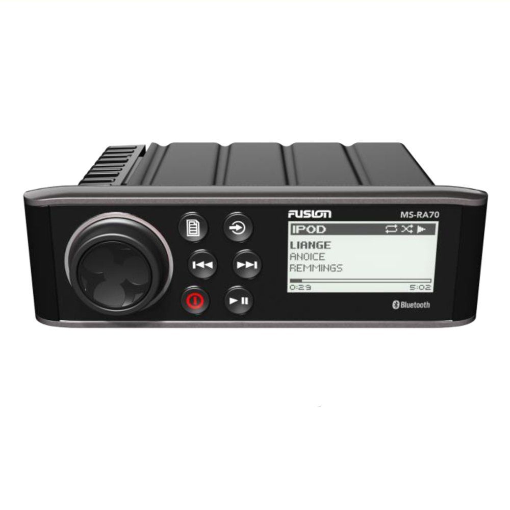 4x50w Class A Amplifier 2 Zone With 1 Discrete Pre Out And Sub Aux In Am FM IPhone IPod Android Interface Built High Level Bluetooth