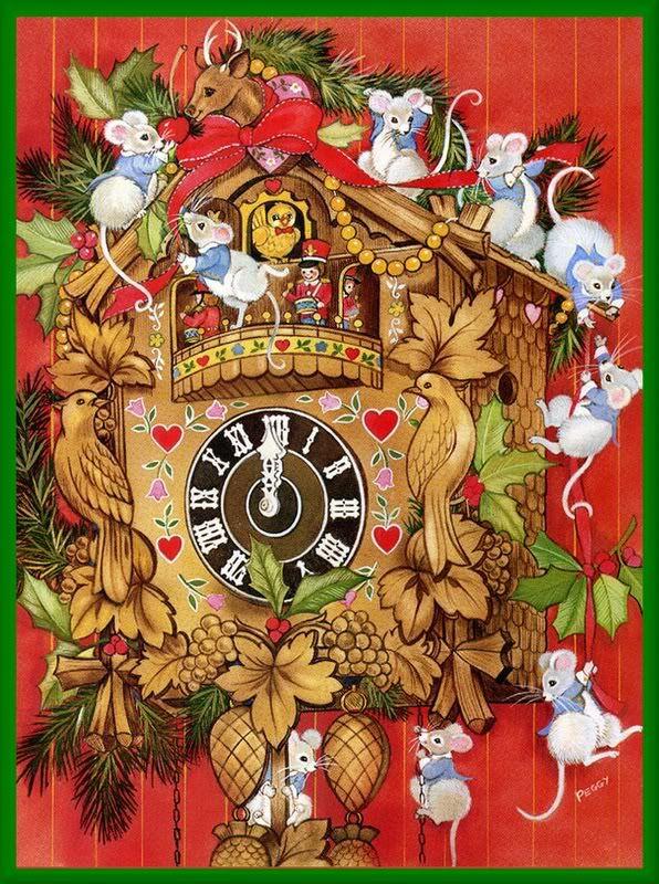 Christmas Mice | ❤️A Christmas Mouse❤ | Pinterest | Mäuse und ...