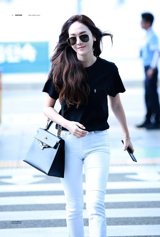 Jessica Airport Fashion 2017 Official Korean Fashion A Pinterest Airport Fashion