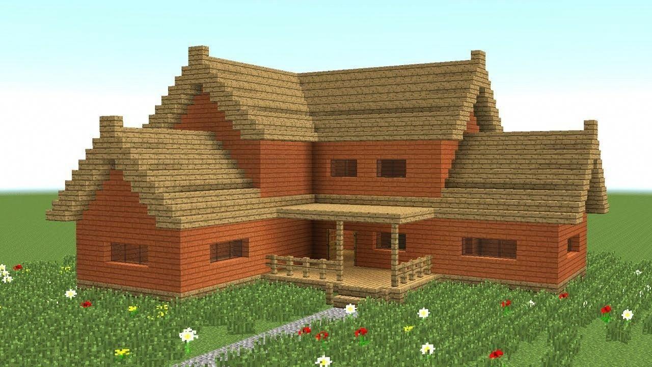 красивые дома в майнкрафт как построить пошагово будут представлены