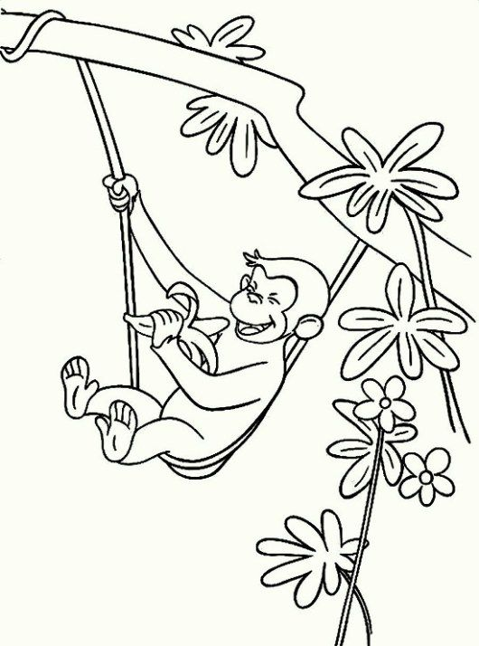 curious ge e coloring pages 03 zoo animals dibujos mo os Albuquerque Zoo Train curious ge e coloring pages 03