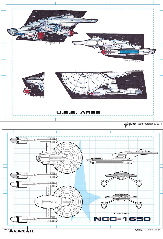 Star Trek Axanar - Ares Concept To Final by stourangeau.deviantart.com on @deviantART
