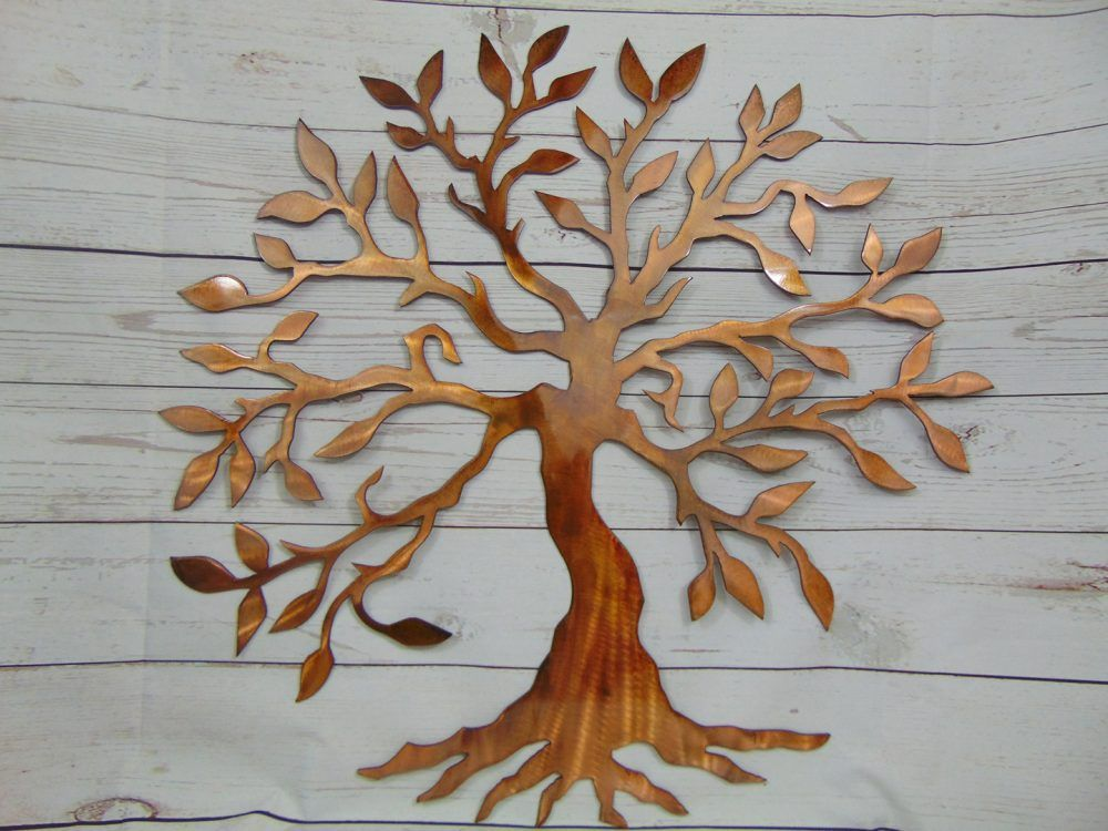 Olive tree of life metal wall art https michiganmetalartwork com shop abstract olive tree of life metal wall art